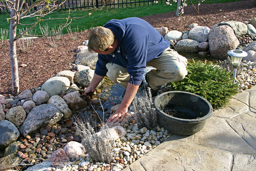 Water Feature Pond Maintenance Packages Chicago IL