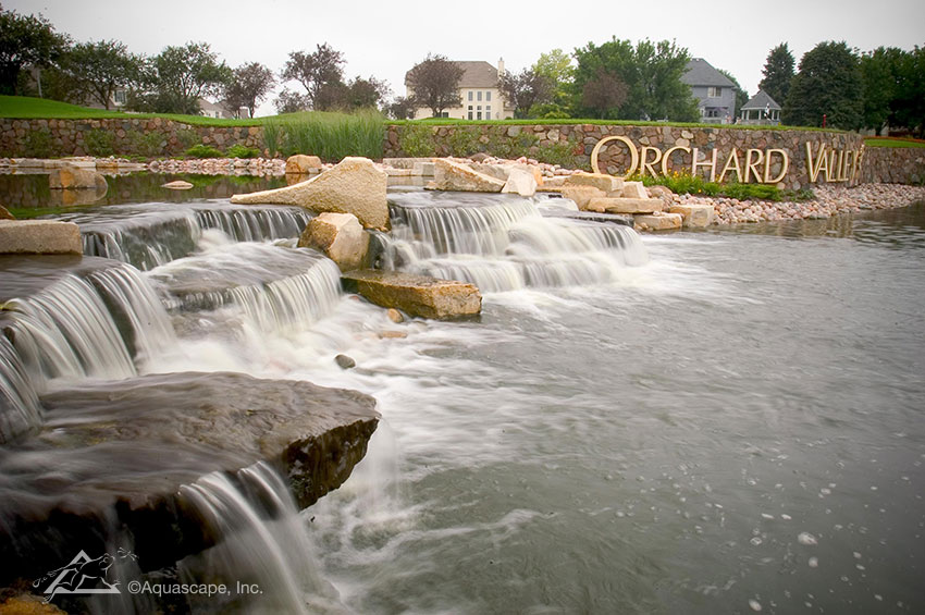 Retention Pond | Commercial Water Feature | Aquascape ...
