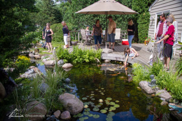 Pond and Garden Tour