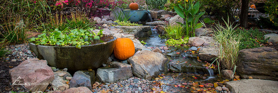 pond construction pond maintenance water feature installers chicago