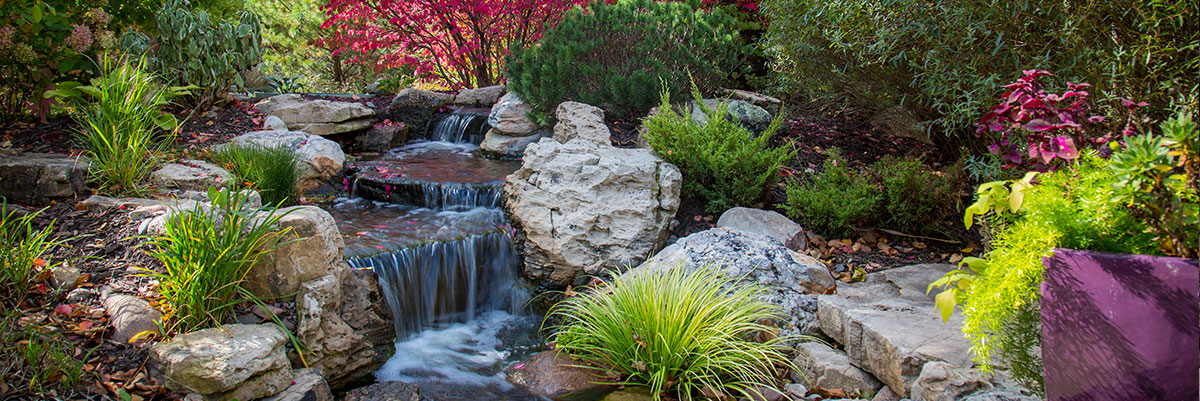 pond construction pond maintenance and water feature installers