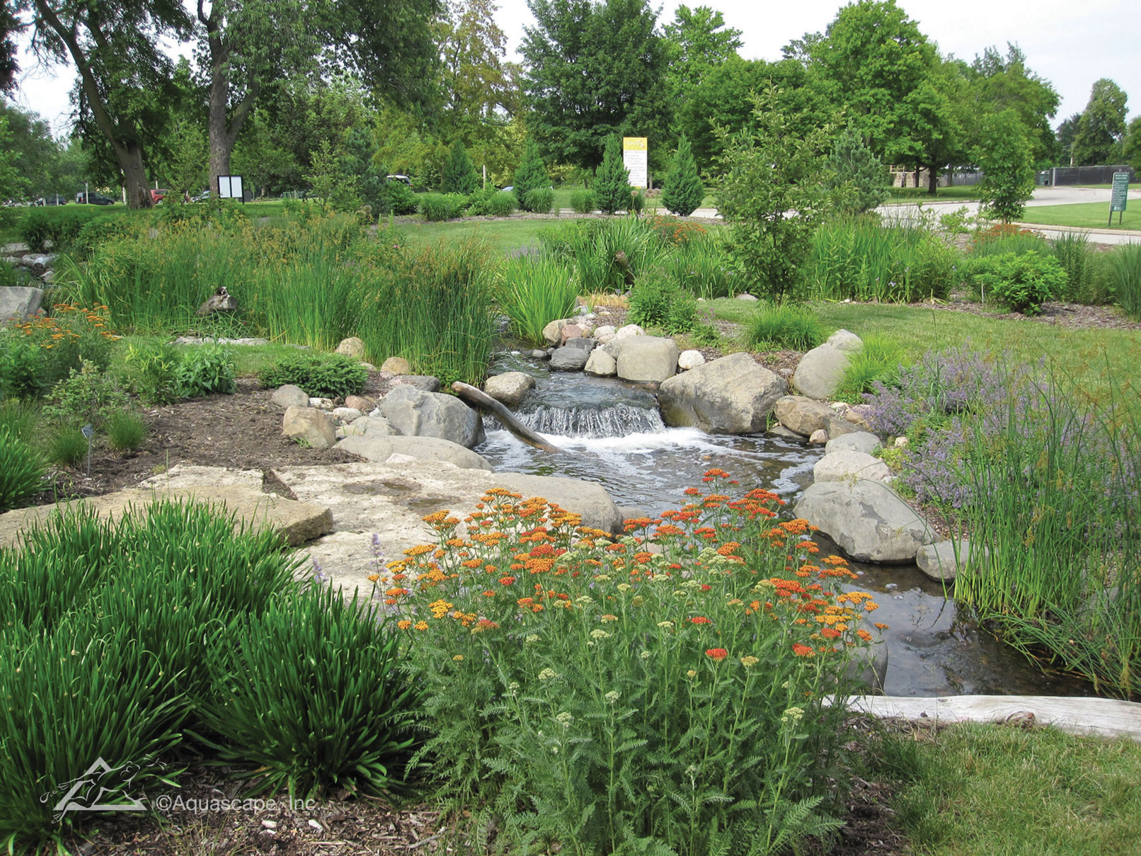 Boerner Botanical Garden Aquascape Construction