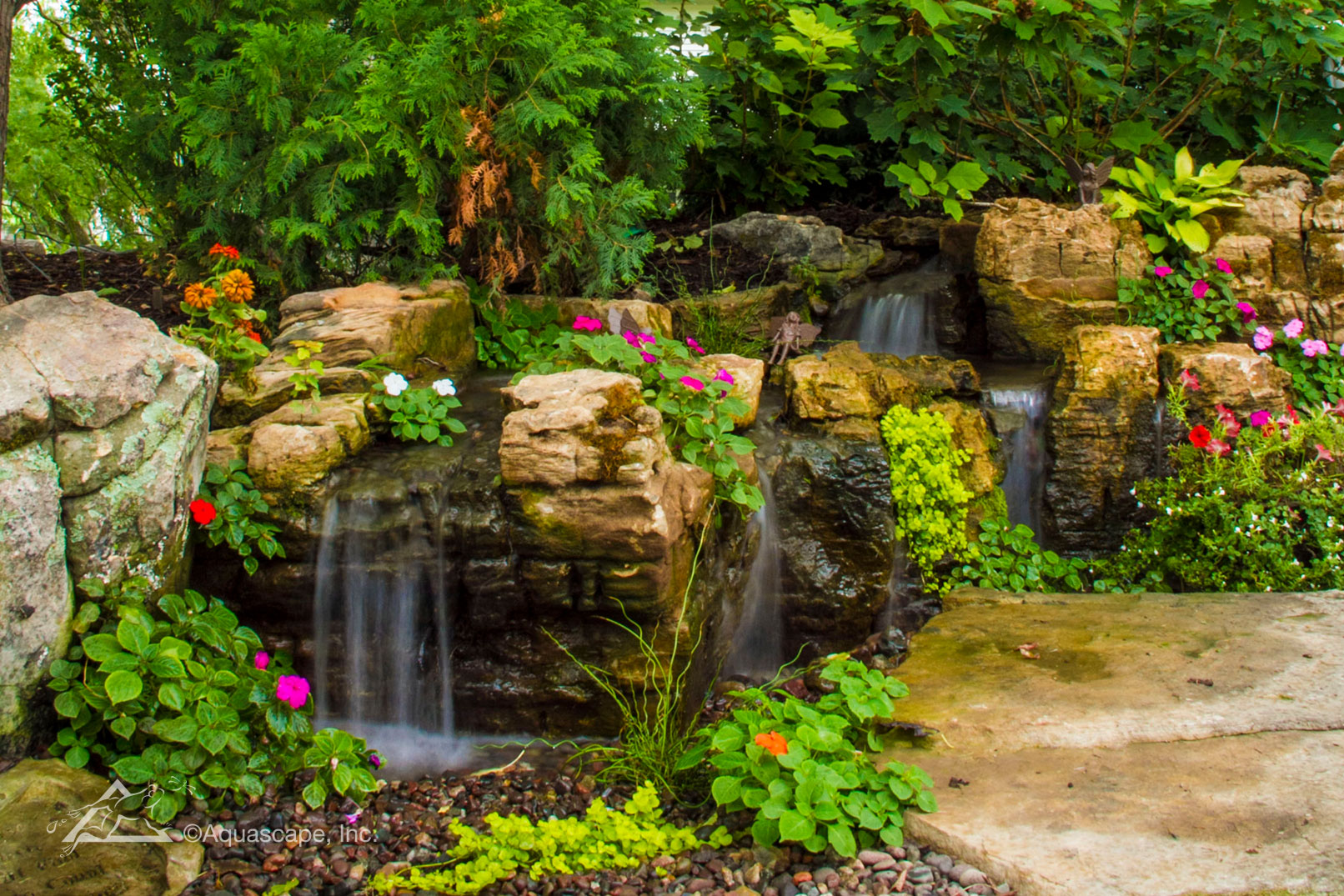 Backyard Retreat - Aquascape Construction