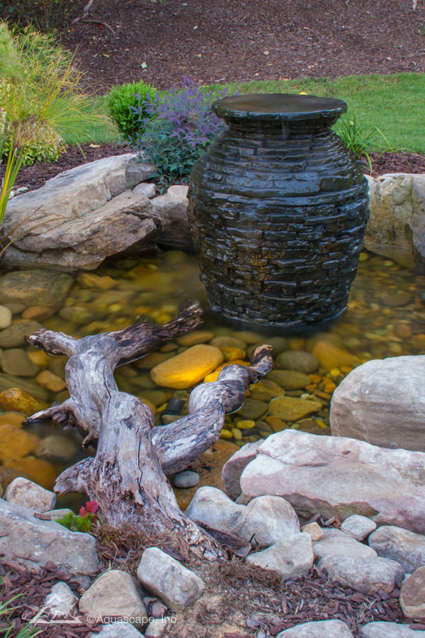 decorative water features bubbling urn