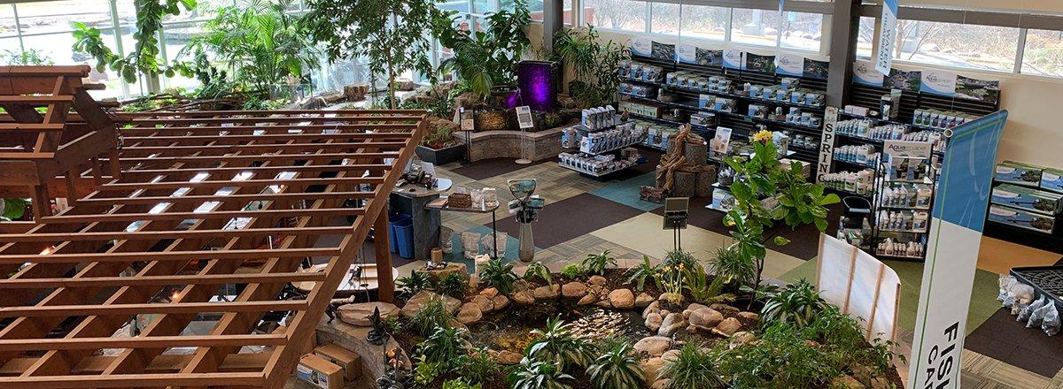 Aqualand retail store
